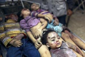 Dead Children in Gaza